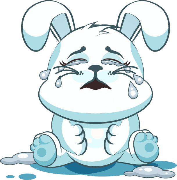 White Leveret - Stickers for iMessage messages sticker-1