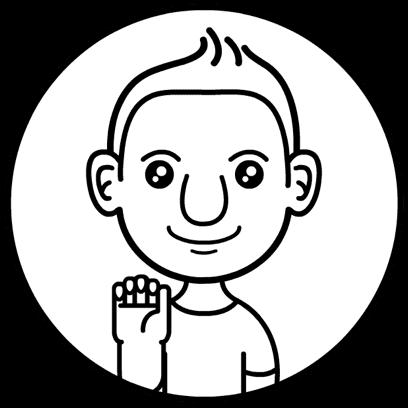 Aniemoji Friendly Guy messages sticker-0