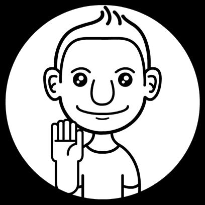 Aniemoji Friendly Guy messages sticker-5