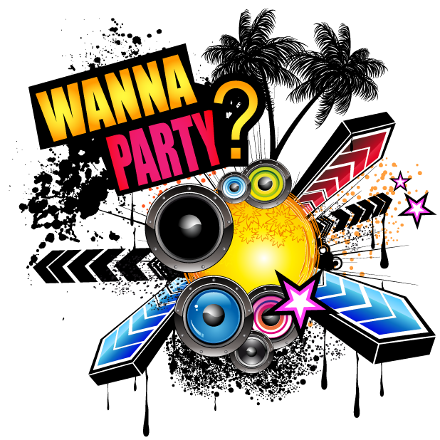 Let's Party Stickers for iMessages messages sticker-10
