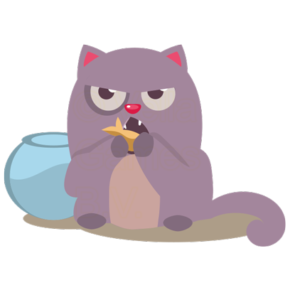 Cat Perfect Pet messages sticker-1