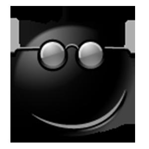 Black Emoji Sticker Pack for iMessage messages sticker-10