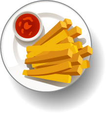 Dishes food - Stickers for iMessage messages sticker-1