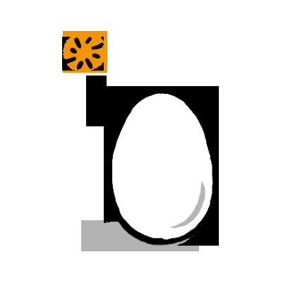 Mr. Egg Sticker messages sticker-3