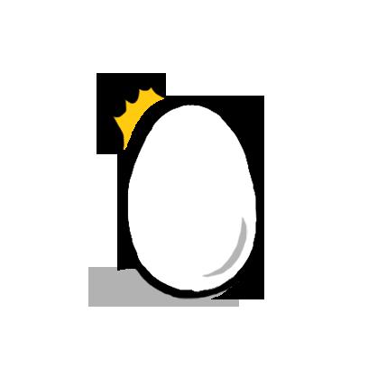 Mr. Egg Sticker messages sticker-7