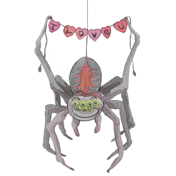 Silly Spiders by Rhea Dennis messages sticker-7