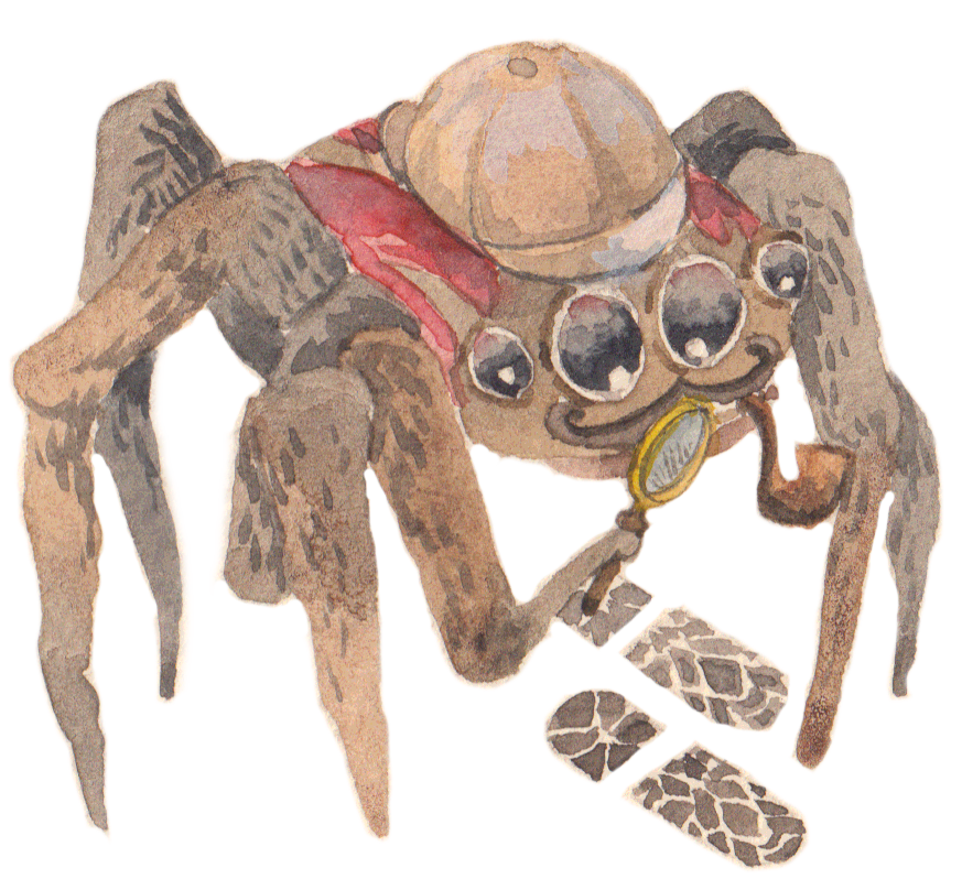 Silly Spiders by Rhea Dennis messages sticker-4