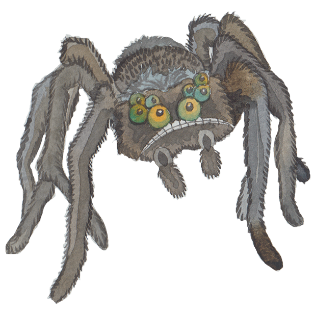 Silly Spiders by Rhea Dennis messages sticker-11