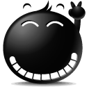 Black Emojis Stickers Pack for iMessage messages sticker-11