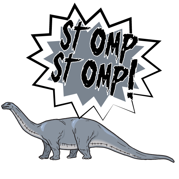 Battle Text-Attack of the Dinosaurs! messages sticker-3