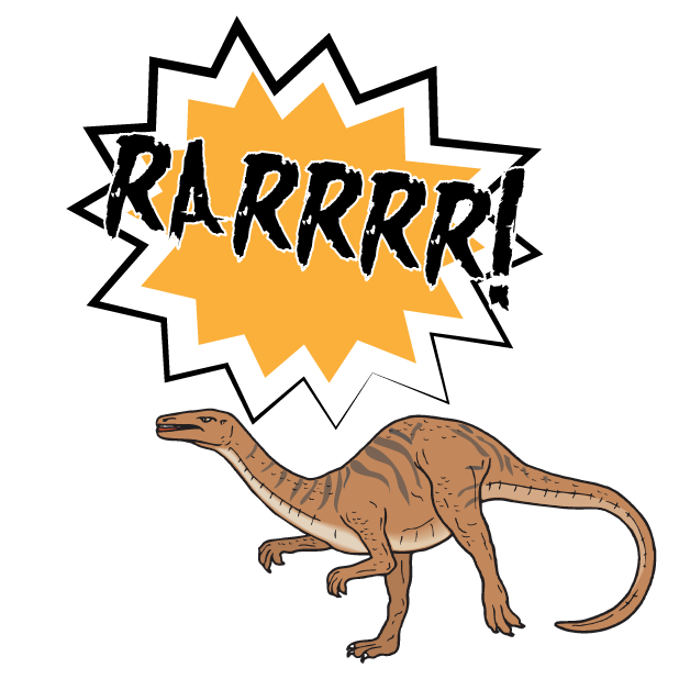 Battle Text-Attack of the Dinosaurs! messages sticker-4