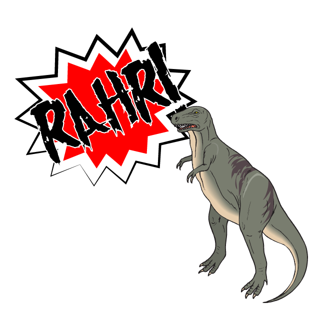 Battle Text-Attack of the Dinosaurs! messages sticker-0