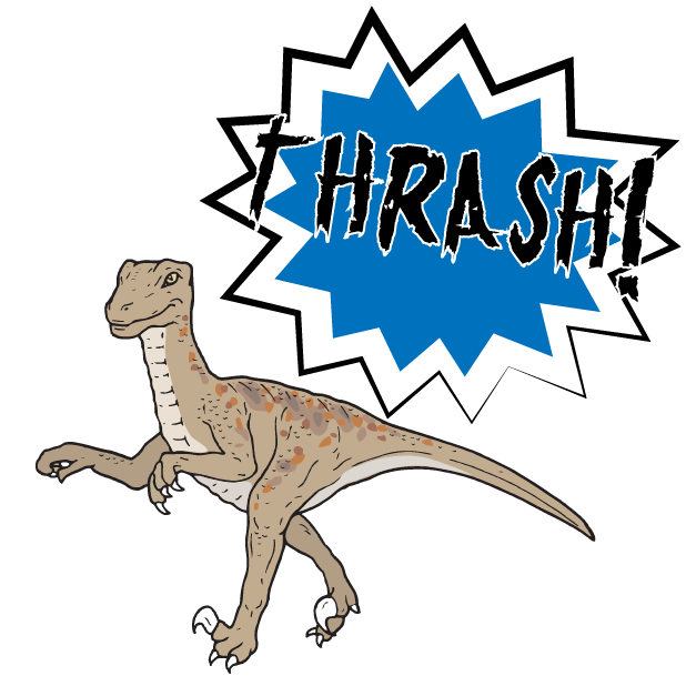 Battle Text-Attack of the Dinosaurs! messages sticker-5