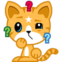 Cat Stickers Pack for iMessage messages sticker-8