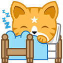 Cat Stickers Pack for iMessage messages sticker-2
