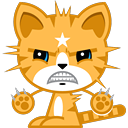 Cat Stickers Pack for iMessage messages sticker-1