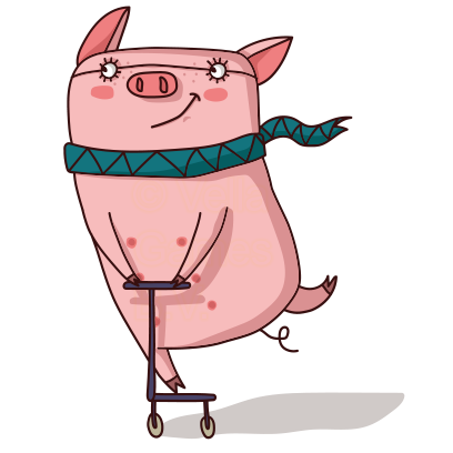 Cute Pig - Stickers for iMessage messages sticker-6