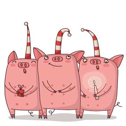 Cute Pig - Stickers for iMessage messages sticker-8