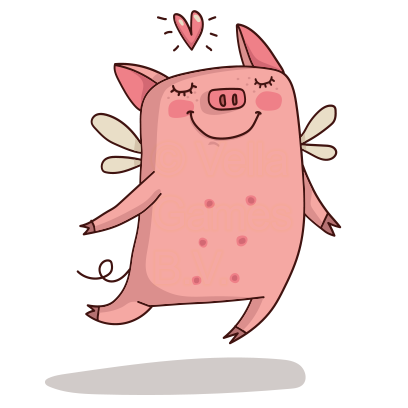 Cute Pig - Stickers for iMessage messages sticker-1