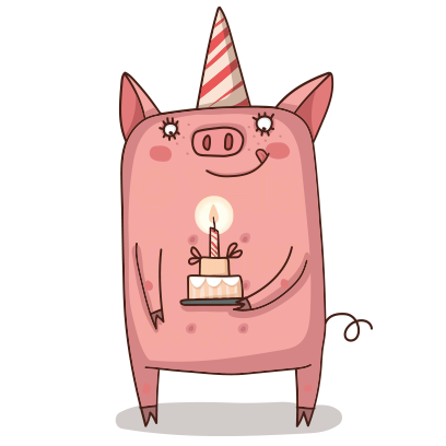 Cute Pig - Stickers for iMessage messages sticker-9