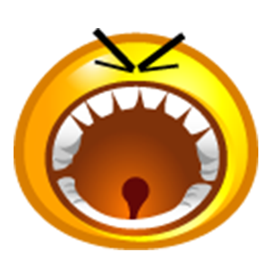 Yellow Bubble Emoji Sticker Pack for iMessage messages sticker-1