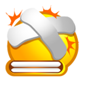 Yellow Bubble Emoji Sticker Pack for iMessage messages sticker-7