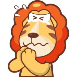 Lionel The Lion stickers by pecellele pencil messages sticker-0