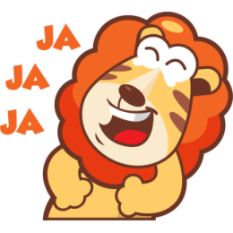 Lionel The Lion stickers by pecellele pencil messages sticker-10