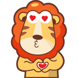 Lionel The Lion stickers by pecellele pencil messages sticker-9