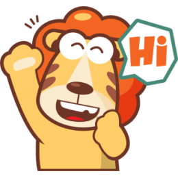 Lionel The Lion stickers by pecellele pencil messages sticker-8