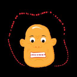 Potatoman World Trippin' stickers by drop sound messages sticker-9