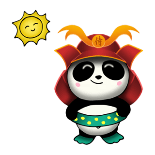 SAMURAI PANDA 2 (Animated) stickers by CandyA$$ messages sticker-6