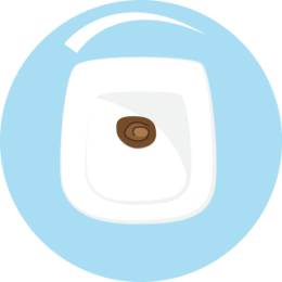 Toilet Pan stickers by drop sound messages sticker-3