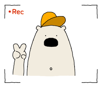 Polar Bear faces sticker messages sticker-0