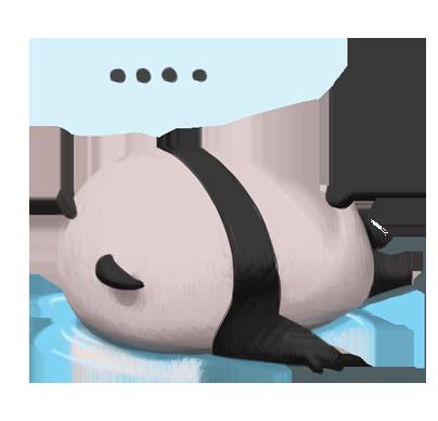 JuJuu sexiest panda messages sticker-3