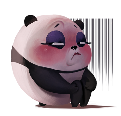 JuJuu sexiest panda messages sticker-2