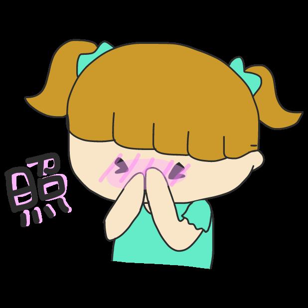 今日も1日ゆめミ隊。(Kyo Mo 1Nichi Yume Mitai,) messages sticker-10