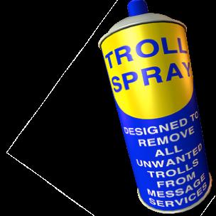Troll Spray messages sticker-1