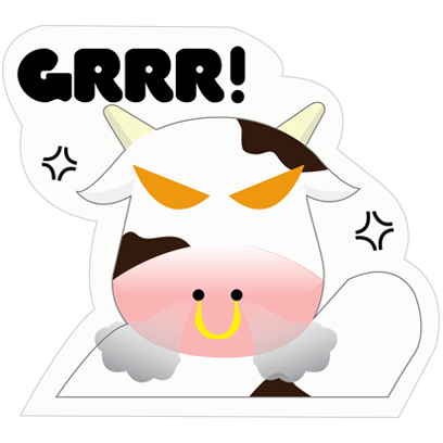 Mooo Stickers Pack messages sticker-3