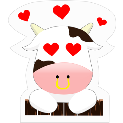 Mooo Stickers Pack messages sticker-9