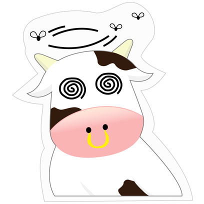 Mooo Stickers Pack messages sticker-8