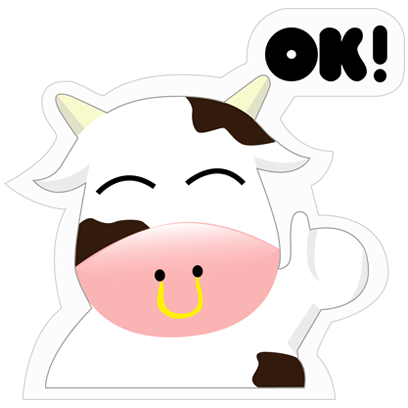 Mooo Stickers Pack messages sticker-0