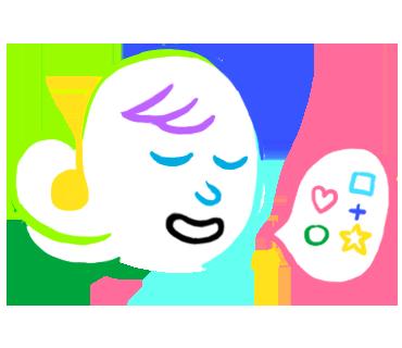 kawaii sticker messages sticker-1
