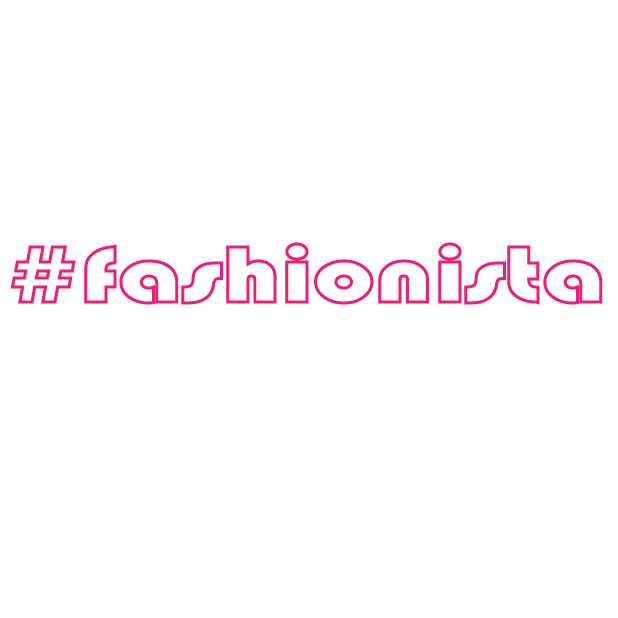#Fashionista-Hashtag Stickers for Fashion Lovers! messages sticker-0