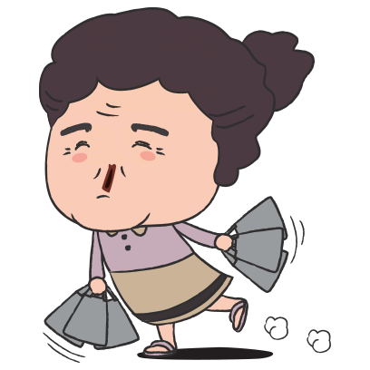 Grumpy Grandma – Stickers for iMessage messages sticker-11