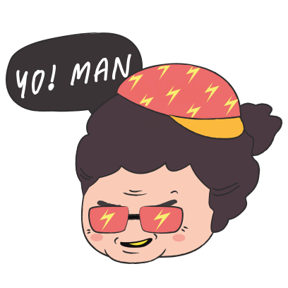 Grumpy Grandma – Stickers for iMessage messages sticker-9