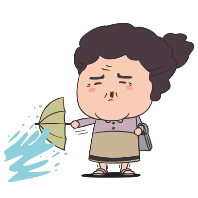 Grumpy Grandma – Stickers for iMessage messages sticker-10