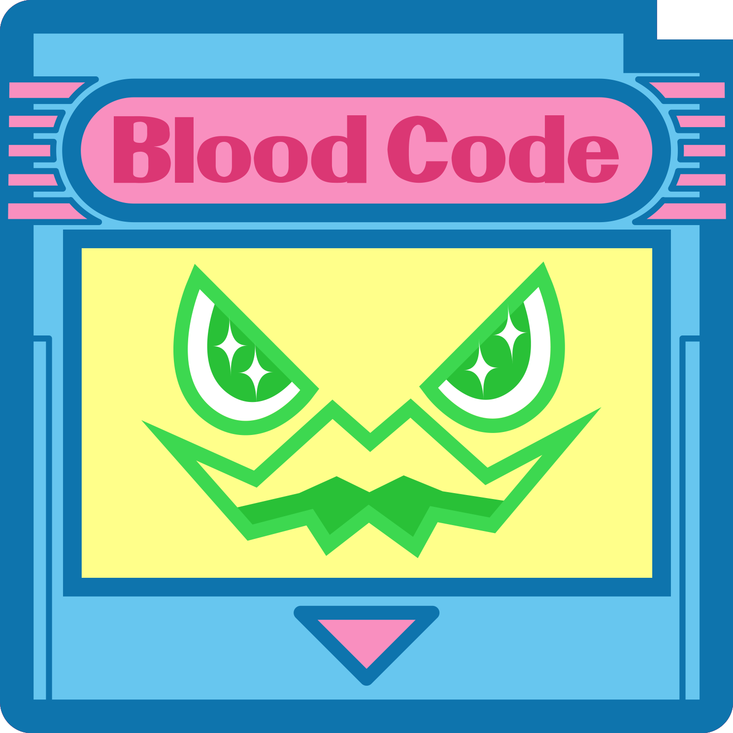 Blood Code Stickers messages sticker-10