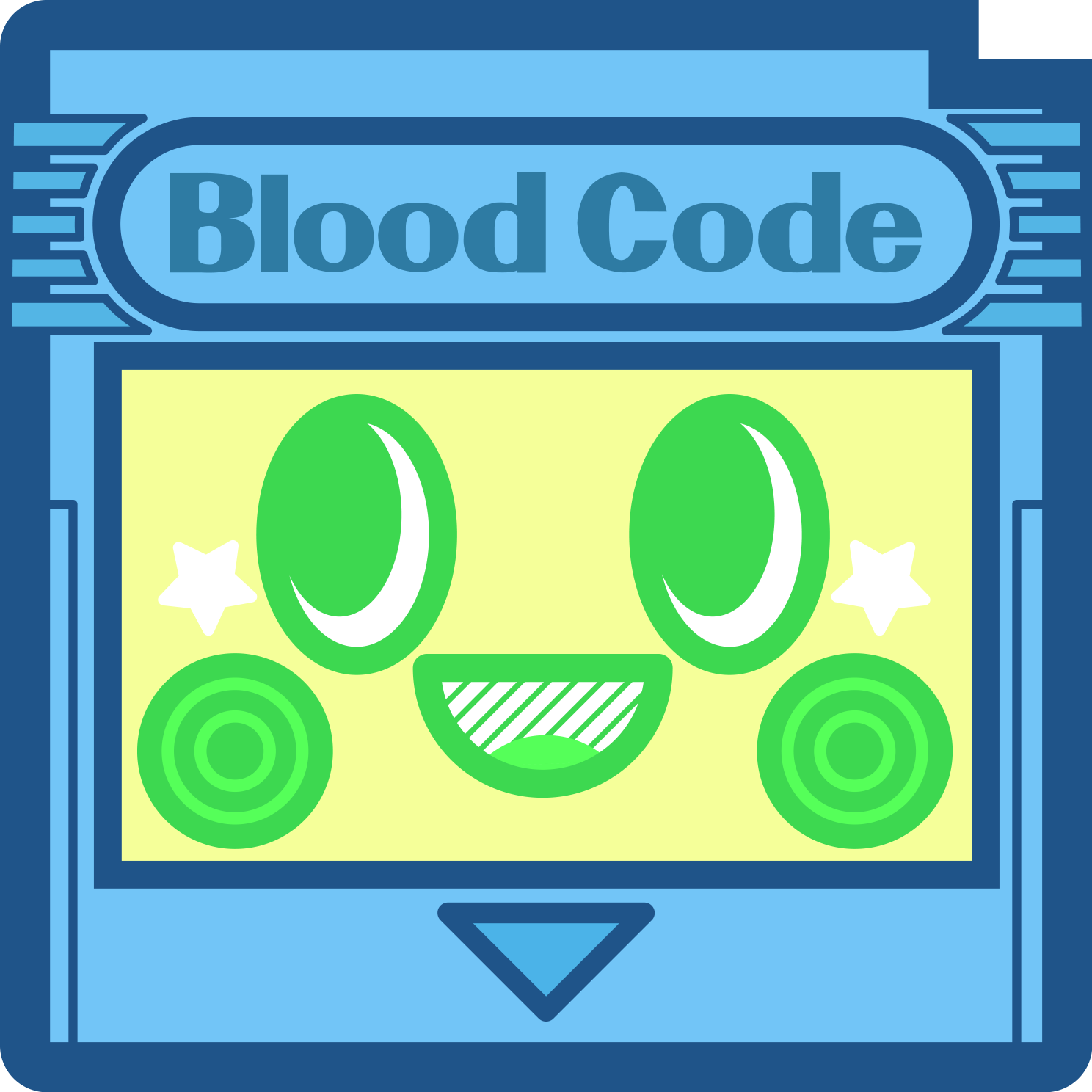Blood Code Stickers messages sticker-9