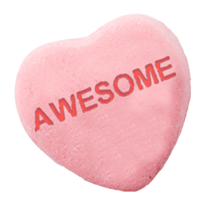 Chatty Candy Hearts messages sticker-4